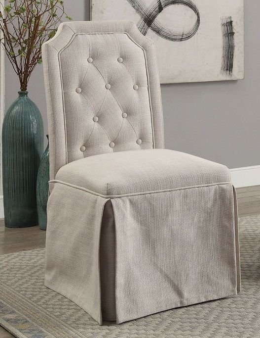 New Ross By Furniture Of America Cm3343sc Bg Dining Chair Set Of 2