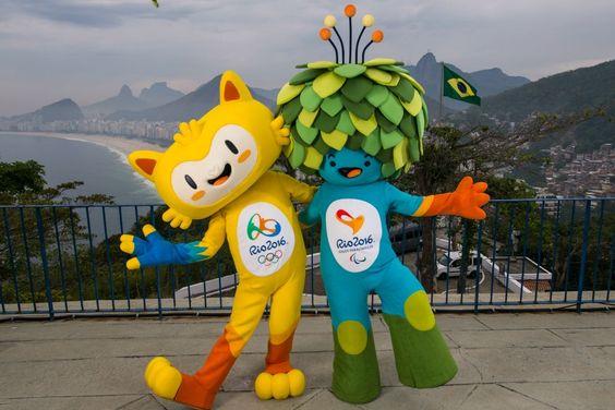 Les mascottes de Rio 2016 dévoilées