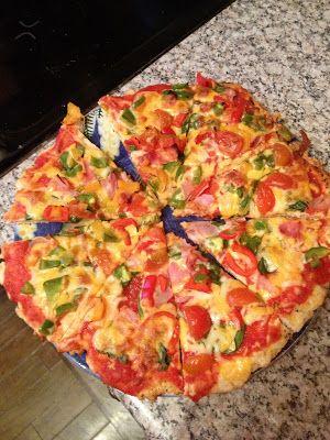 Low carb pizza+chipsEatLiveLove.it: April 2013