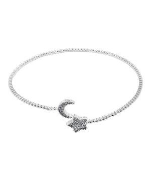 Another great find on #zulily! Silver & Diamond Moon Star Cuff by BJG Services #zulilyfinds