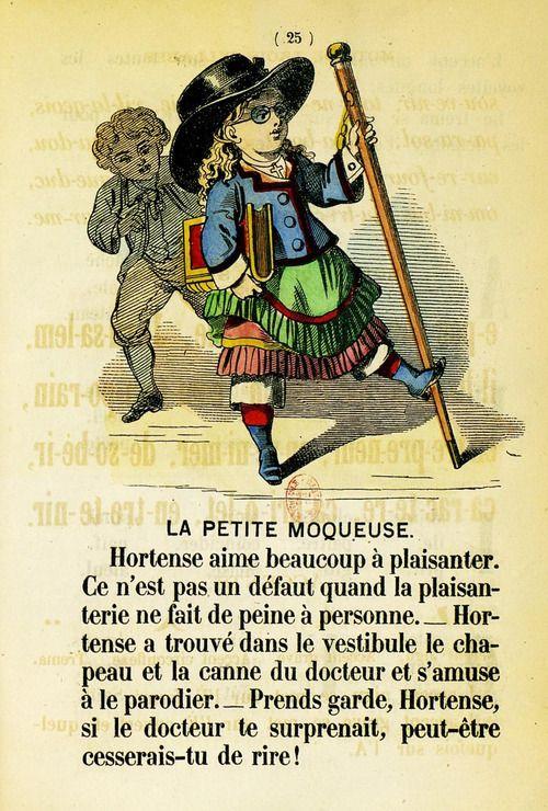 A B C D des petites filles (1874)