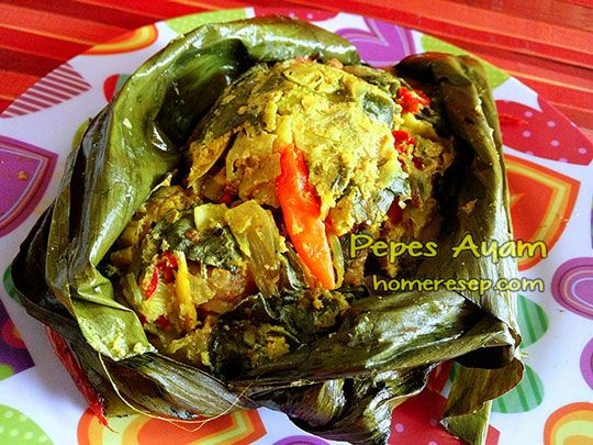 Resep Pepes Ayam Jpg 540 405 Cooking Indonesian Food Food