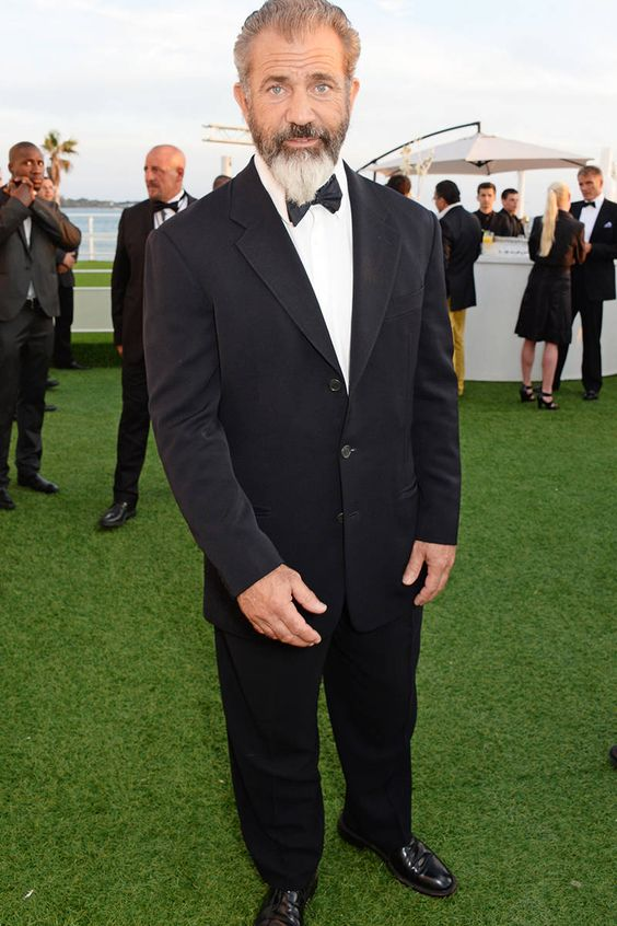 Mel Gibson has Barbie hands! that's something we can all agree on