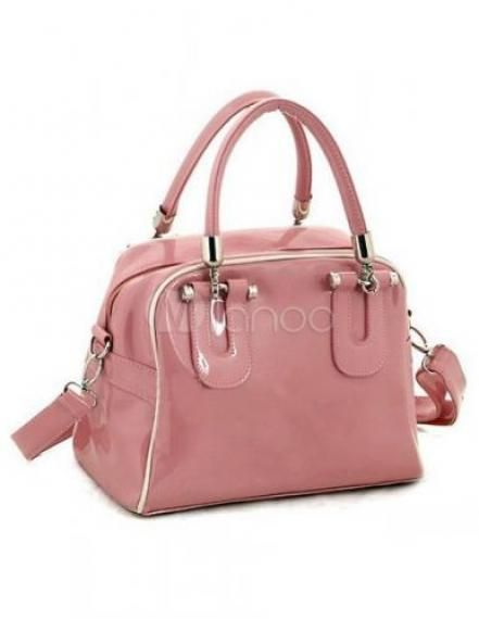 Sweet Pillow-Shaped PU Tote Bag For Women