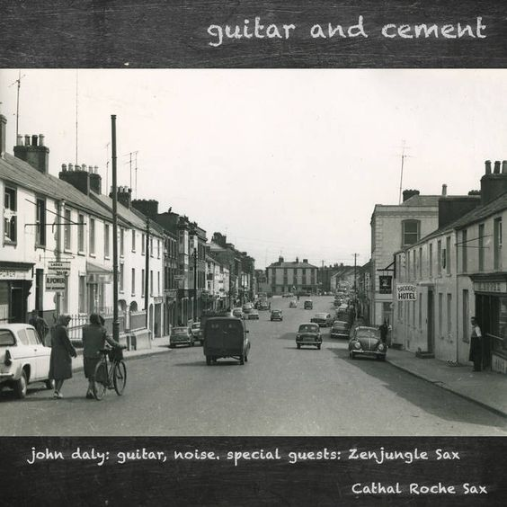 guitar and cement cover art
