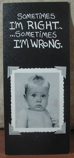 MARK 1 Inc. 1978 Vintage Greeting Card Style 83A I'm Sorry 1.8P723B481217JUNK0323  http://ajunkeeshoppe.blogspot.com/