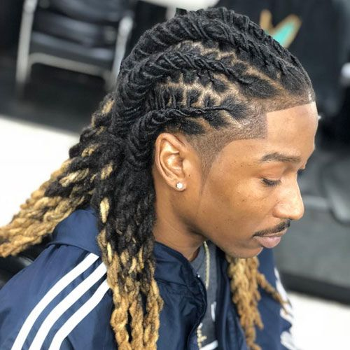 37++ Long dread styles for guys inspirations