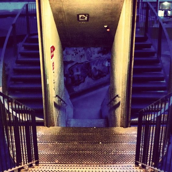#stairs #upmc #campus #university #paris Photo by david_barriere