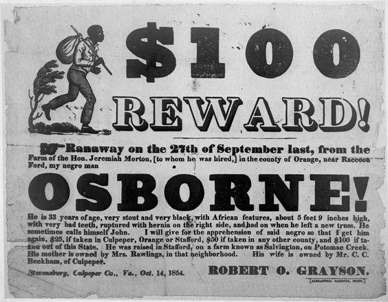 Runaway slave advertisements essay