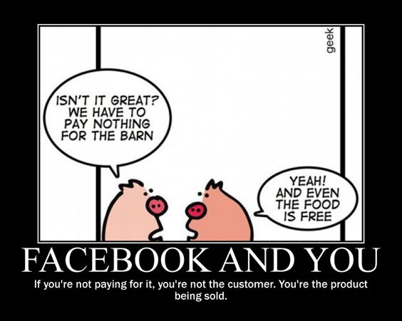 Facebook and you.