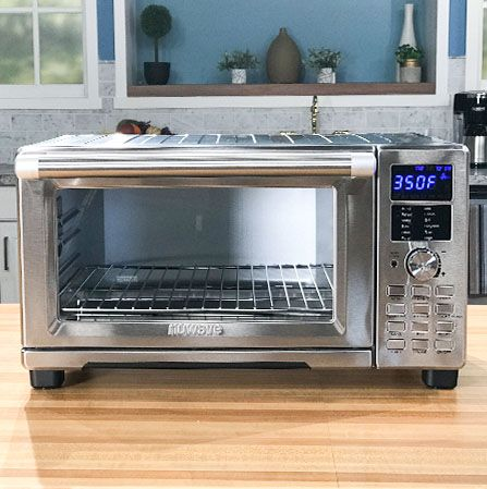 The Nuwave Bravo Xl Uses Convection Heating Technology That Circulates Hot Air Around The Food For Faster Cooking Times Convection Oven Countertop Oven
