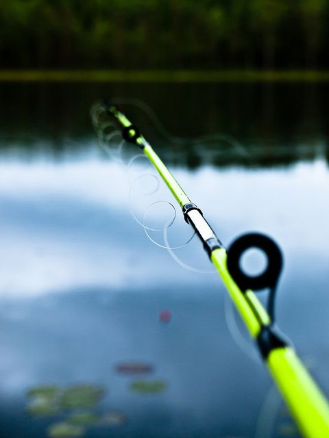 So tomorrow i 39 m takin me fishin hang a sign on the door for Fishing poles near me
