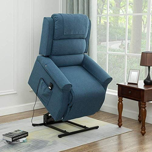 Enjoy Exclusive For Lansen Furniture Electric Power Lift Recliner Chair Traditional Comfortable Brushed Linen Fabric Lounge Elderly Gift Nursing Home Equipme In 2020 Recliner Chair Recliner Furniture