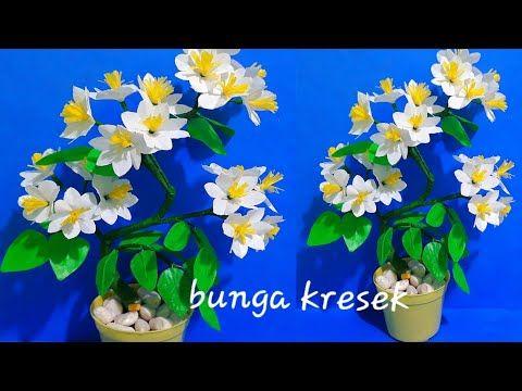 Cara Membuat Bunga Dari Plastik Kresek Yg Bagus Youtube Bunga Kreatif Dekorasi Kreatif