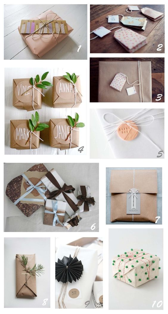 When it isn't always about what's inside…  1. my own wrapping, 2. & 3. here, 4. here, 5. here, 6. my own wrapping, 7. ...