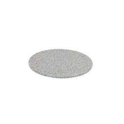 Tropitone Round Granite Stone Table Top Finish: Sand Bar