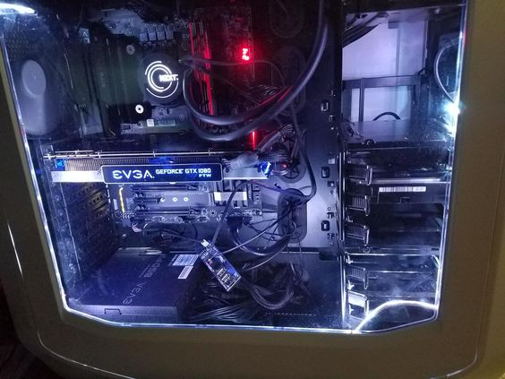 jonathanheierle's Completed Build - Core i7-6700K 4.0GHz Quad-Core, GeForce GTX 1080 8GB FTW DT GAMING, 780T ATX Full Tower - PCPartPicker