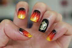 Honey and Milk: The Hunger Games - Catching Fire Nails