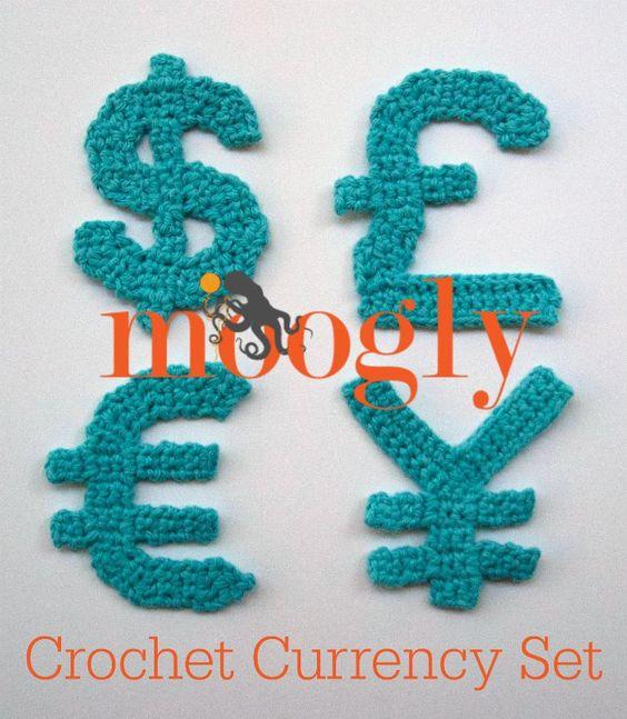Free Crochet Patterns In Symbols : Symbols, Appliques and Crochet on Pinterest