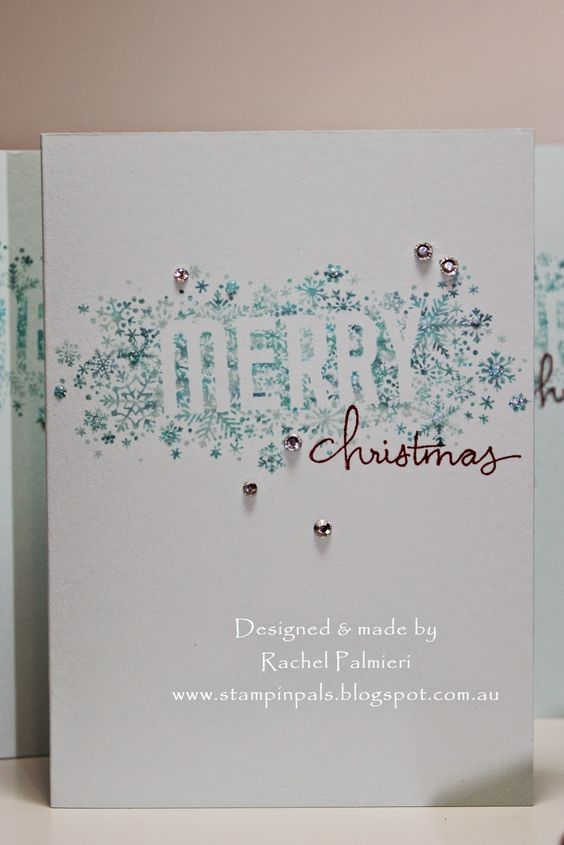 Stampin' Pals: More Christmas Cards - by Stampin' Up! - And Me!!
