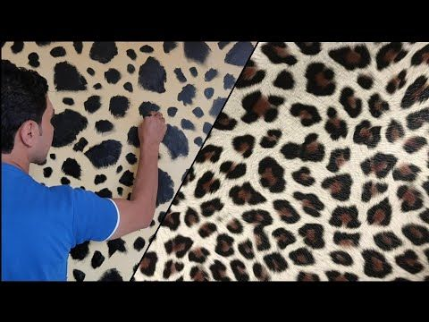 ديكور التايجر بستخدام قطعه اسفنج طريقه سهله شاهد الشكل النهائي Youtube Animal Print Rug Printed Rugs Print