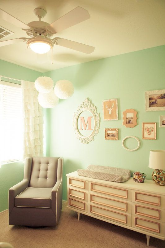Teal And Coral Nursery Photos By Cortney Talbott