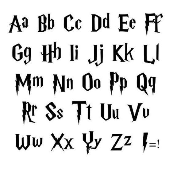 Personalisierter Name Order Personalized Owen Besttattooideas Harry Potter Schrift Harry Potter Buchstaben Vinyl Aufkleber