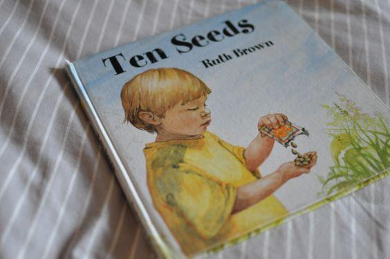 Wonderful children's book - ten seeds by Ruth brown