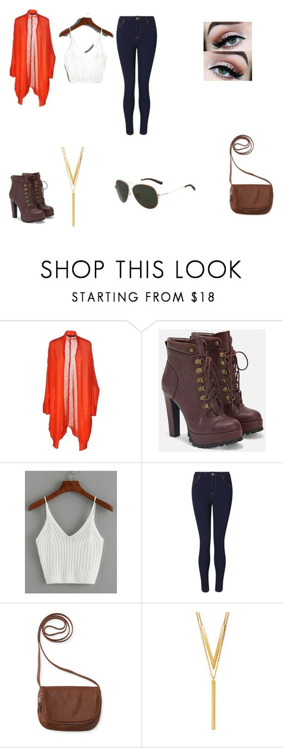"""Untitled #76"" by shortiiiee ❤ liked on Polyvore featuring beauty, Blue Les Copains, JustFab, WithChic, Miss Selfridge, Aéropostale, BERRICLE and Valentino"
