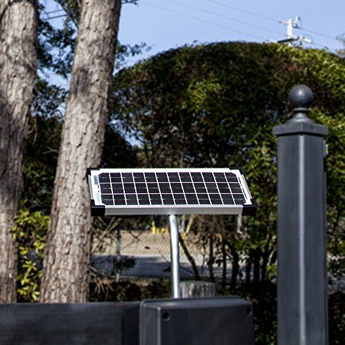 10 Watt Solar Panel Kit Fm123 For Mighty Mule Automatic Gate Openers Useful Tools Store Solar Panels Solar Panel Kits Solar Powered Gate Opener
