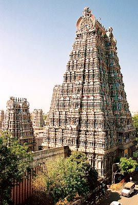 The Kapaleeswarar temple is a Hindu shrine, dedicated to the God Shiva in the city of Chennai.