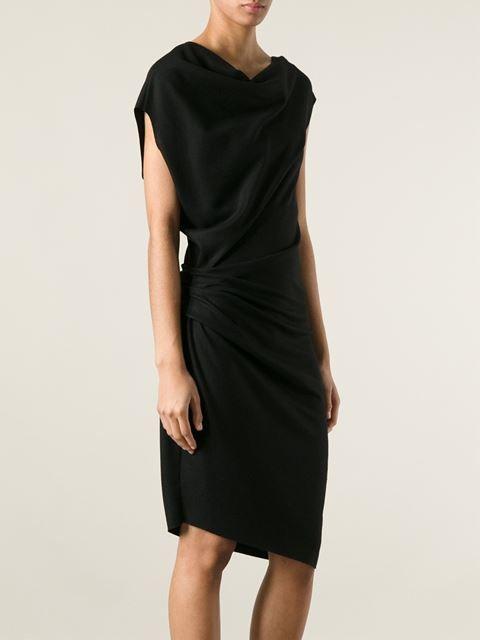 Helmut Lang Asymmetric Dress - Stylesuite - Farfetch.com