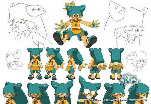 Yugo Model Sheet (Wakfu) I want is beanie huhu ^^ gonna sew it someday