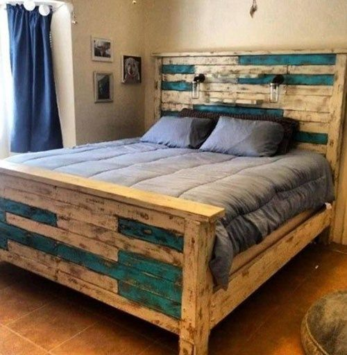 50 Pallet Bed Image Ideas Best Pallet Bed Frame
