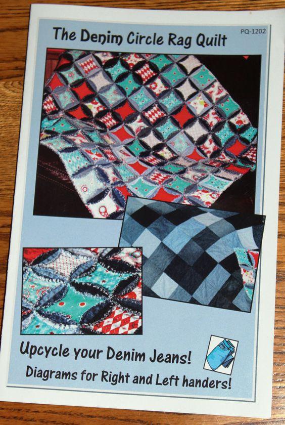 QUILT PATTERN - rag quilt rag quilts Pinterest Quilt, Circles and Rag quilt