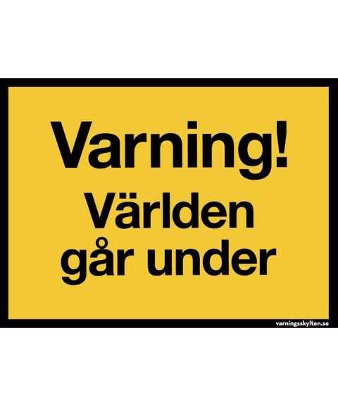051 Varningsskylt Varning For Hons Roligt Varningsskyltar Och Roliga Skyltar