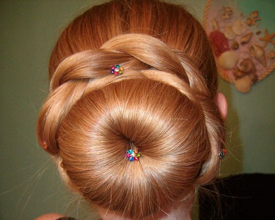 Fabulous Sock Buns Fluffy Socks And Formal Hairstyles On Pinterest Hairstyles For Women Draintrainus