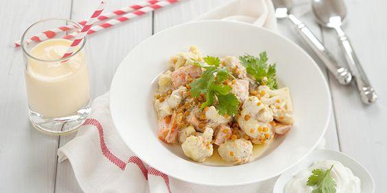 Gemüse-Linsen-Curry in der KochAbo-Box am 27. Mai! Noch bis heute Abend bestellen und genießen.