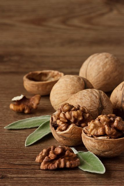 Bitter and crunchy, walnuts are rich in Omega-3 ALA fatty-acids, necessary for hair growth. They're also rich in biotin & vitamin e, which prevent hair loss and aid in protecting hair from sun. Walnuts also have copper, a mineral that helps keep your natural hair color rich and lustrous. #hairfood #healthyhair