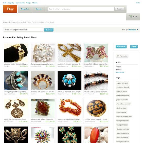 Website 'http://www.etsy.com/treasury/MTYxNzA1ODV8MjcyNDM1ODUxOA/ecochic-fab-friday-fresh-finds' snapped on Snapito!