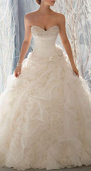 wellfigured.com: #beautiful #wedding #corsest