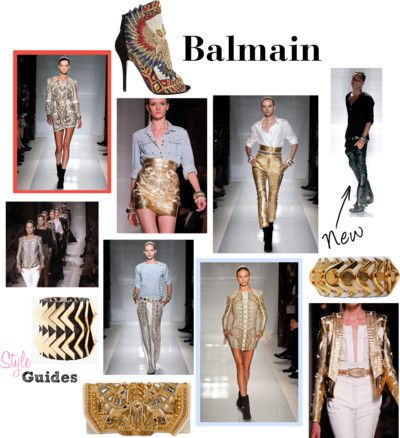 Balmain S/S 2012