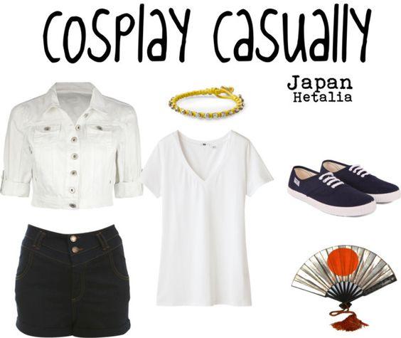 Cosplay Casually Japan from Hetalia!
