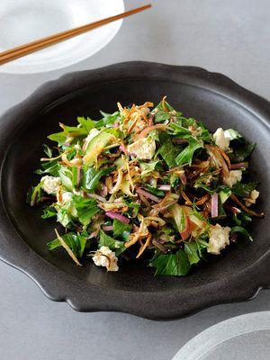【ELLE a table】ごぼうと豆腐のサラダレシピ エル・オンライン