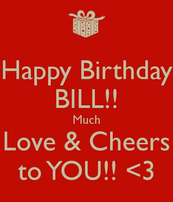 Image result for happy birthday bill