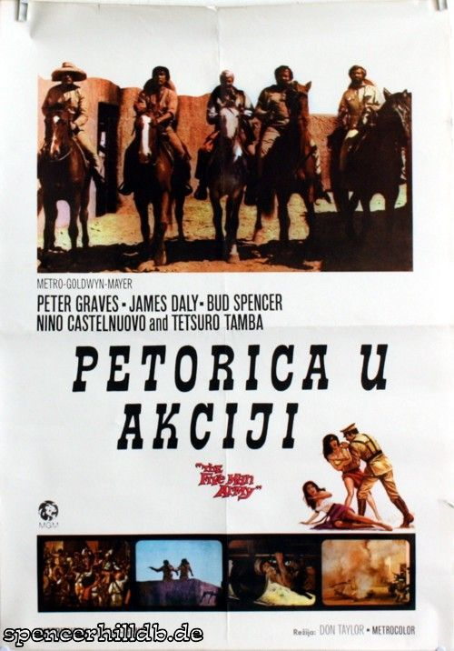 Plakat - Petorica u akciji - Bud Spencer / Terence Hill - Datenbank