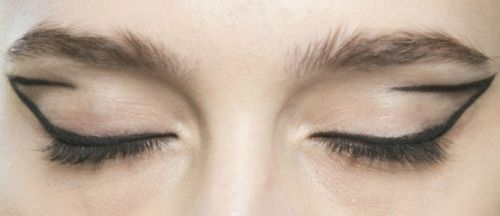 "lamorbidezza: "" Makeup at Roksanda Ilincic Spring 2014 """