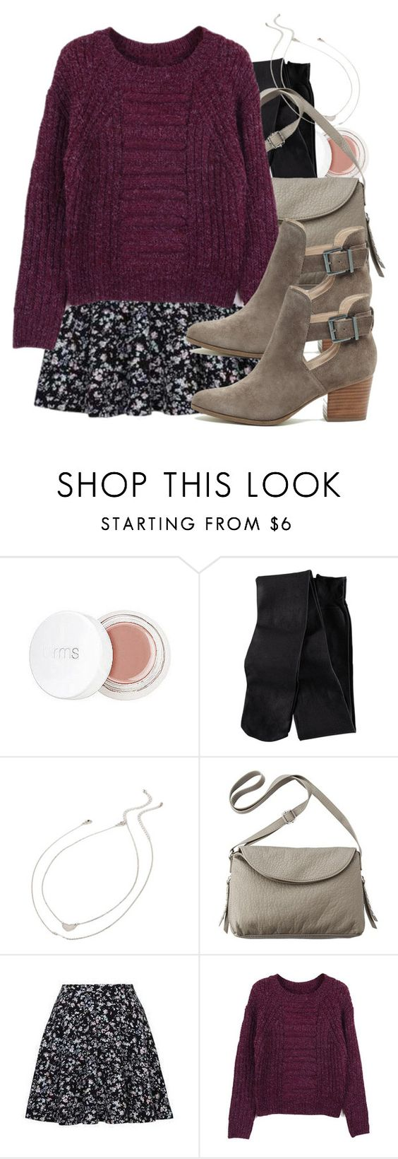 """Hayley inspired fall school outfit"" by tvdstyleblog ❤ liked on Polyvore featuring rms beauty, H&M, Forever 21, Mossimo, Retrò and Sole Society"
