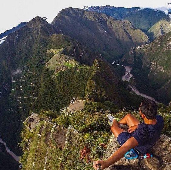 Selfies tirados em ambientes extremos (4)
