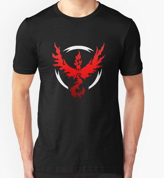 Shirt for Sale: Pokemon Go - Team Valor by Kaiserin
